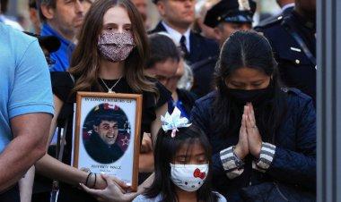 A 20 años del 9/11 en EU, realizan acto conmemorativo