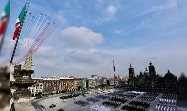 Así se vivió el desfile militar en el Zócalo