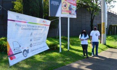 Avanza programa para mejorar la calidad del aire en Edomex